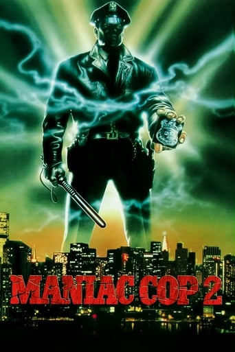 Poster of Maniac Cop 2
