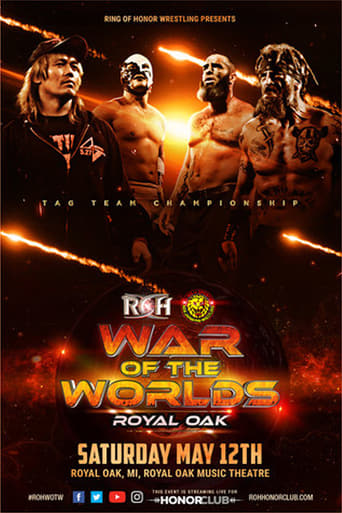Poster of ROH/NJPW War of the Worlds Tour - Royal Oak, MI