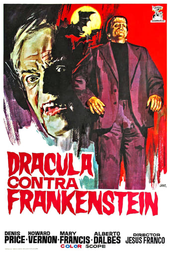 Poster of Dracula contra Frankenstein