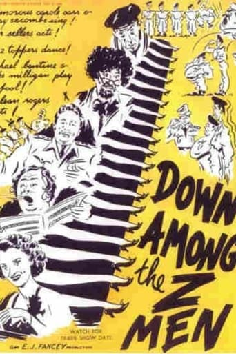 Poster of Down Among the Z Men