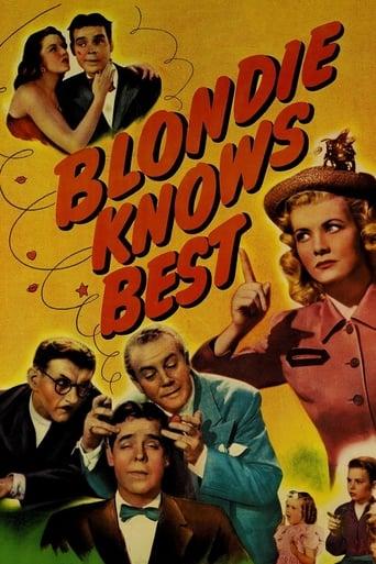 Blondie Knows Best Movie Poster