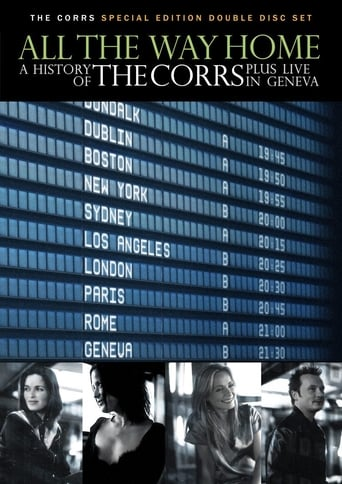 Poster of All the Way Home: A History of The Corrs