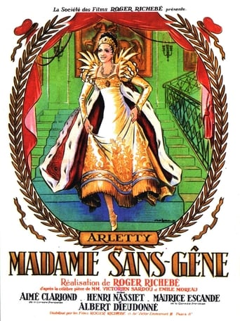 Poster of Madame Sans-Gêne