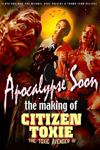 Poster of Apocalypse Soon: The Making of 'Citizen Toxie'