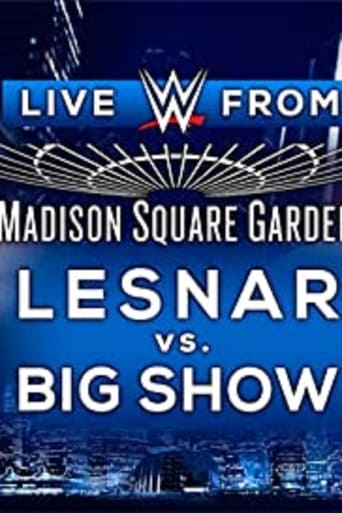 Poster of WWE Live from Madison Square Garden