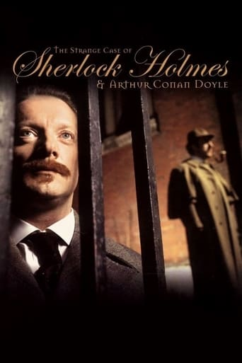 Poster of The Strange Case of Sherlock Holmes & Arthur Conan Doyle
