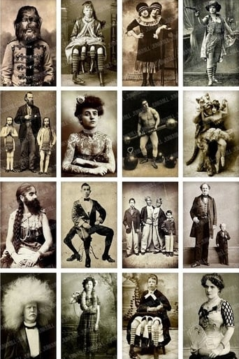 Poster of Circus Freaks and Sideshows