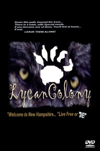 Poster of Lycan Colony