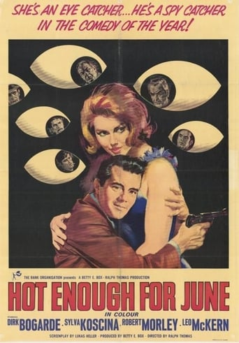 Poster of Hot Enough for June