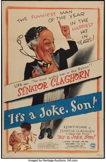 Poster of It's a Joke, Son!