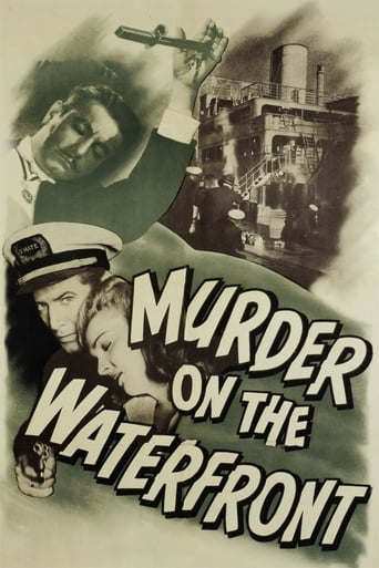 Poster of Murder On The Waterfront