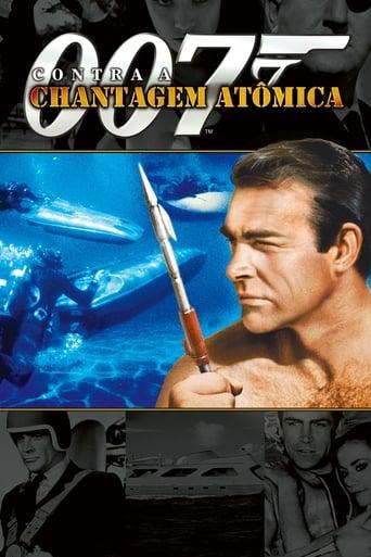 007 Contra a Chantagem Atômica - Poster