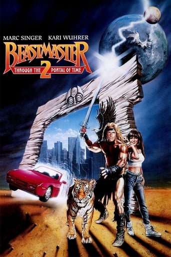 Poster Beastmaster 2: Through the Portal of Time