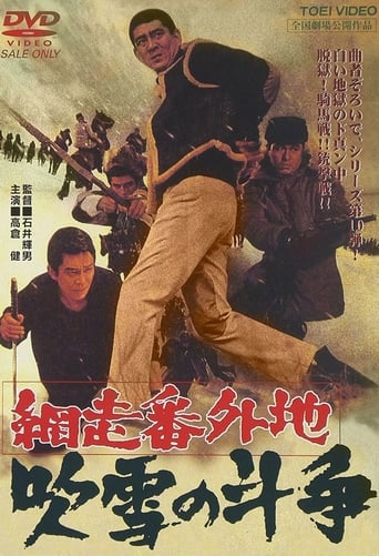 Poster of A Story from Abashiri Prison—Duel in Snow Storm