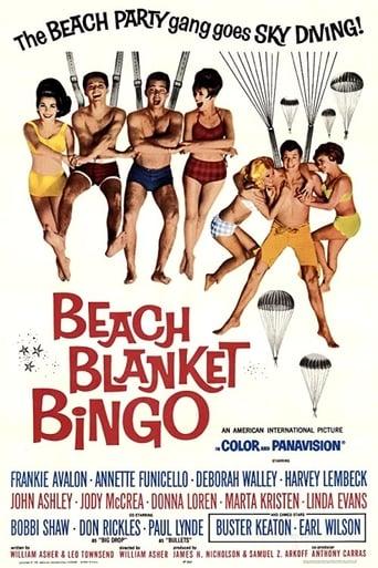 Poster of Beach Blanket Bingo