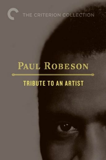Poster of Paul Robeson: Tribute to an Artist