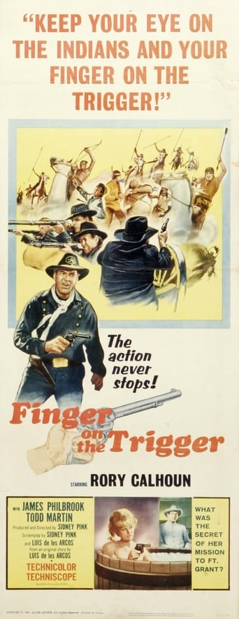Finger on the Trigger Movie Poster