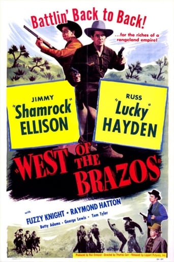 Poster of West of the Brazos