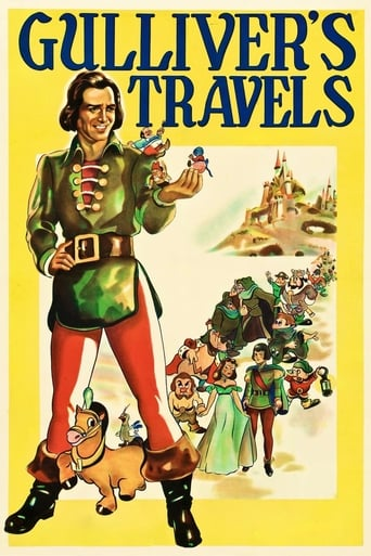 Gulliver's Travels (1939) - poster