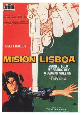 Poster of Espionage in Lisbon