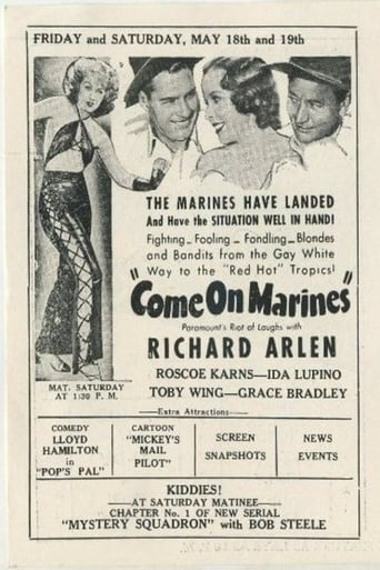 Poster of Come On, Marines!
