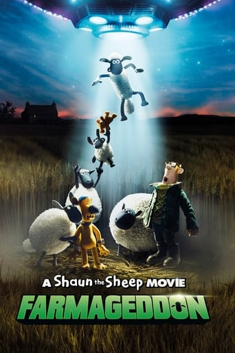 A Shaun the Sheep Movie: Farmageddon Poster