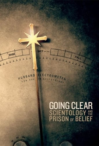 Poster of Going Clear: Scientology and the Prison of Belief