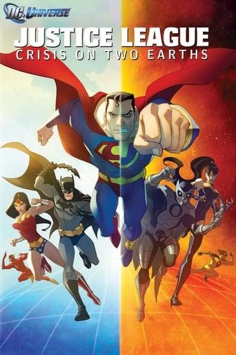portada La Liga de la Justicia: Crisis en dos tierras