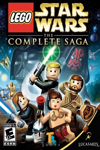 Poster of Lego Star Wars - The Complete Saga