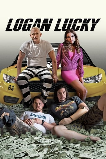 Official movie poster for Logan Lucky (2017)