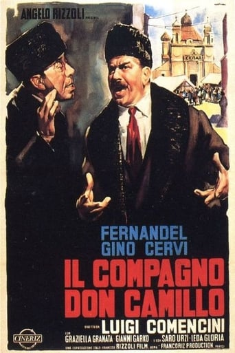 Poster of Don Camillo in Moscow