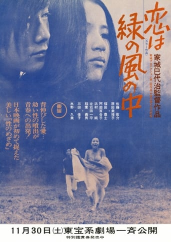Poster of Love is in the Green Wind