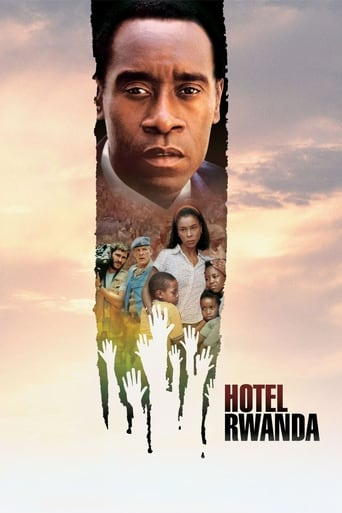 Official movie poster for Hotel Rwanda (2004)