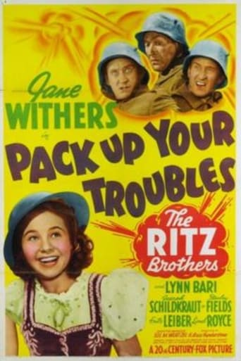 Poster of Pack Up Your Troubles