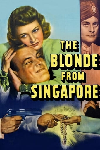 Poster of The Blonde from Singapore