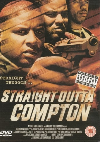 Straight Out Of Compton Movie Poster