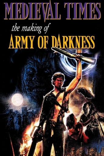 Poster of Medieval Times: The Making of Army of Darkness