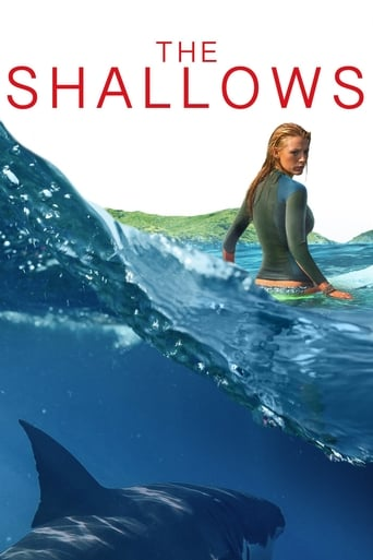 Poster of Shooting in 'The Shallows'