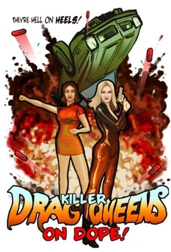 Poster of Killer Drag Queens on Dope