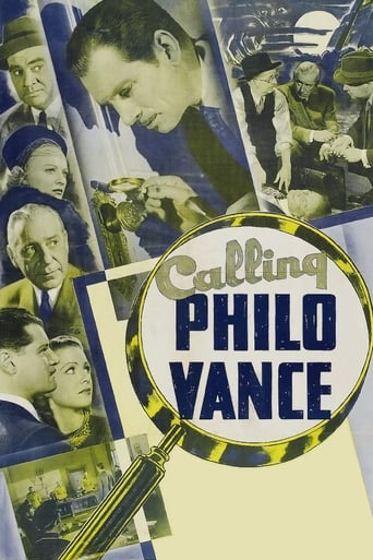 Poster of Calling Philo Vance