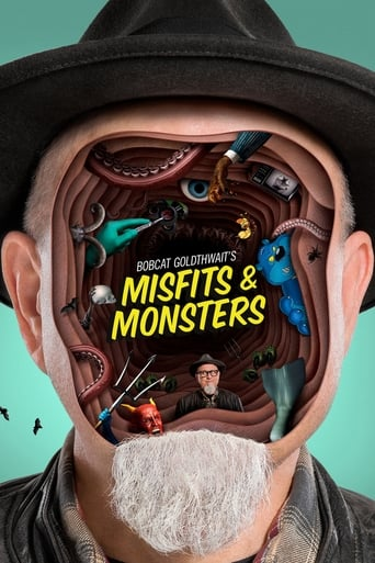 Poster of Bobcat Goldthwait's Misfits & Monsters