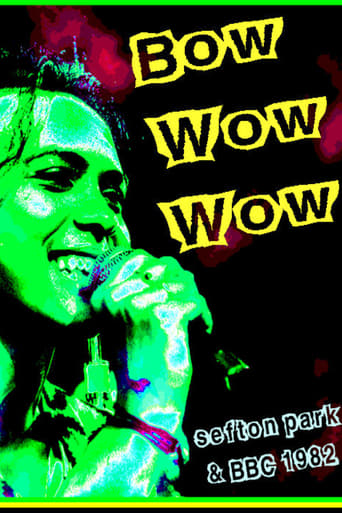 Poster of Bow Wow Wow: Live Sefton Park 07/09/82