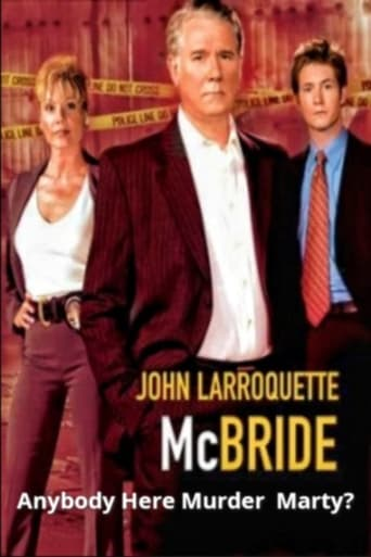 Poster of McBride: Anybody Here Murder Marty?