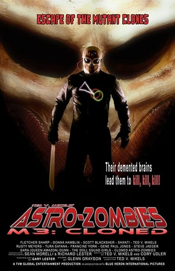 Poster of Astro-Zombies M3: Cloned