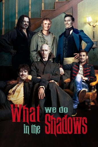 Poster of What We Do in the Shadows