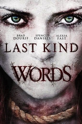 Last Kind Words (2012) - poster