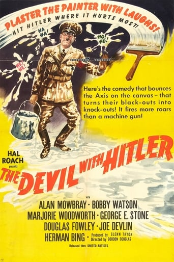 Poster of The Devil with Hitler