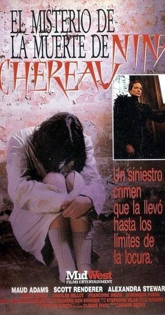 Poster of La mort mystérieuse de Nina Chéreau