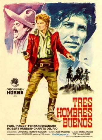 Poster of Tres hombres buenos