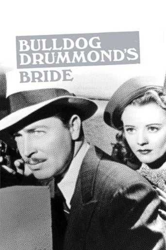 Poster of Bulldog Drummond's Bride